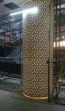 包柱铝单板价格氟碳铝单板幕墙佛山兰铭铝单板厂家图片