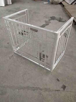 庆阳铝板雕花空调罩定制厂家兰铭装饰