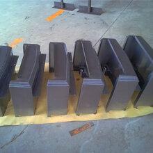 中捷850Y轴伸缩导轨钢板防护罩钣金护板测量图片
