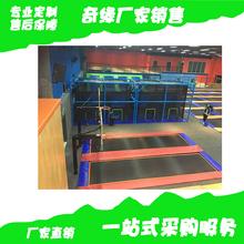 淘气堡厂家室内高层儿童乐园大小型球池乐园蹦床乐园定制
