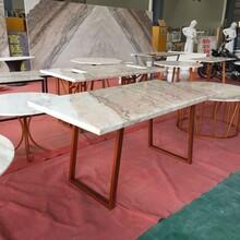 大理石橱柜桌面广西白天然大理石板材图片