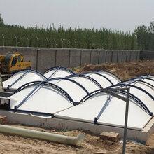 西安反吊膜厂家供货,污水池加盖密封-靓晟泰图片