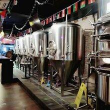 300升小型餐厅精酿啤酒设备,自酿啤酒设备,原浆鲜啤设备图片