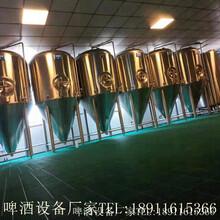 小型啤酒廠啤酒設備選擇2噸自釀啤酒設備圖片