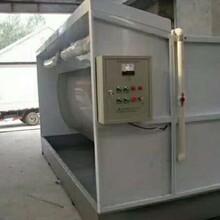水簾式除塵器定做不銹鋼水簾柜涂裝設備水簾除塵水簾柜圖片