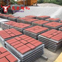 環保免燒磚機天匠全自動水泥透水磚機彩色路面面包磚機廠家圖片