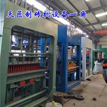 郑州天匠全自动5-15免烧砖机空心砖机水泥制砖机图片