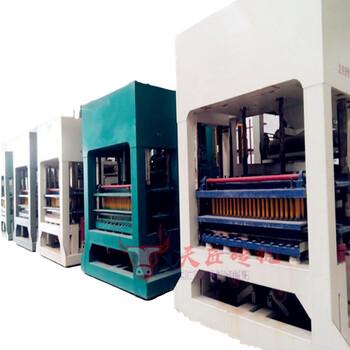 天匠10-15空心砖生产线全自动实心/空心六角护坡砖机路面砖机