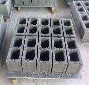 一次成型5块椭圆孔空心砌块机小型水泥空心砖机河南免烧砖机厂家
