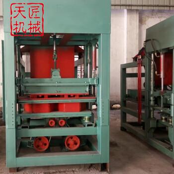 建材生产加工机械混凝土砖机天匠QTY3-15混凝土护坡砖机