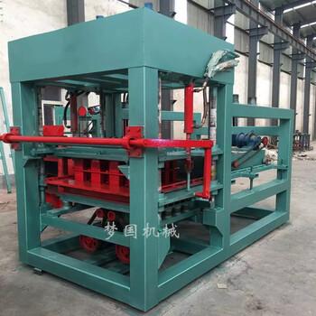 天匠护坡砖机混凝土工字砖成型设备4-15全自动空心六棱砖机械