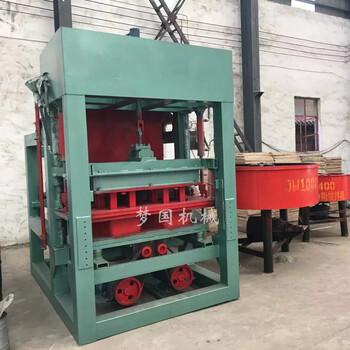 全自动空心免烧砖机混凝土液压制砖机全自动彩色面包砖机