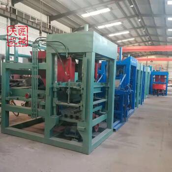 路沿石机天匠QTY4-15免烧空心砌块机生产线面包砖机
