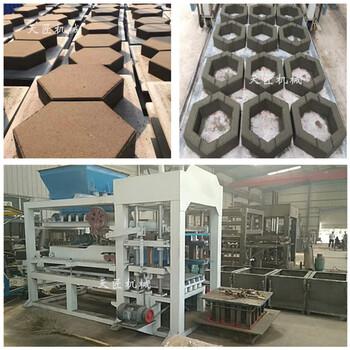工程水利护坡砖成型设备全自动护坡砖机连锁六角砖机天匠机械