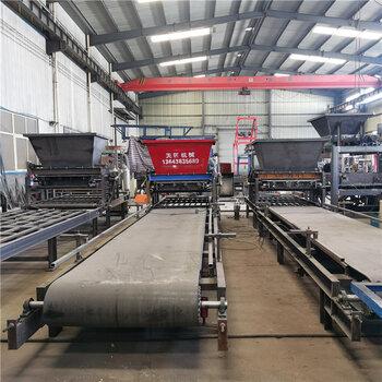 天匠预制块设备预制件布料机振动台护坡连锁工字砌块生产线