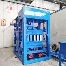 液压空心水泥砖机多功能面包透水制砖机4-15小型检查井砖机图片
