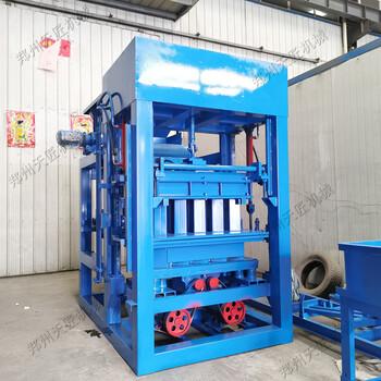 铺装工程釉面砖砖机标砖机生产设备全自动液压水泥免烧空心砖机