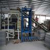 全自动制砖生产线梦人3-15多功能免烧洗衣机配重块设备小型水泥垫块机