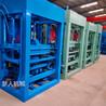 自保温水泥墙空心砌块砖机设备QT4-15多功能混凝土免烧砖机