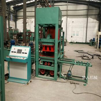 商家供应水泥空心砖机3-15全自动液压免烧砖机免烧水泥砖机