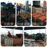 厂家直销大型彩砖机设备梦人机械8-15路面水泥面包砖机海绵城市步道透水砖机