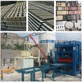 現貨供應多功能液壓空心磚機全自動免燒磚機水泥路面磚機