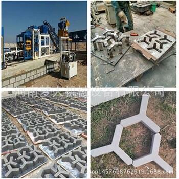 機制生態連鎖人字型護坡磚機預制連鎖塊磚機六角磚機工字磚機