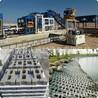 聯鎖生態護坡磚機鉸接式預制塊護坡斜砌頂磚預制三角塊磚機設備