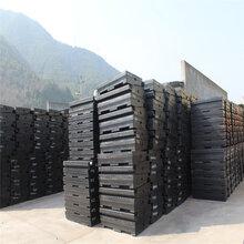优质高铁工程钢轨用橡胶道口安全板长寿命岔道口板尺寸图片