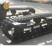 厂家定做橡胶履带底盘桩机改装底盘总成液压橡胶履带底盘