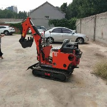 履帶式小型挖掘機工程挖溝挖渠小鉤機農用小型挖掘機