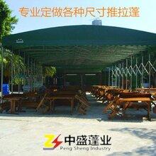 宜昌大型仓库帐篷推拉蓬伸缩帐篷移动雨篷按需定制图片