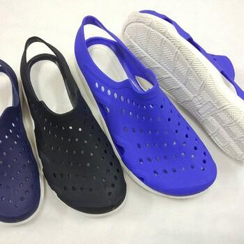 揭阳鞋厂吹气鞋水晶鞋eva鞋