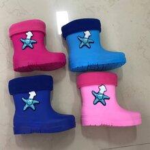 揭阳雨鞋厂新款儿童雨鞋pvc图片