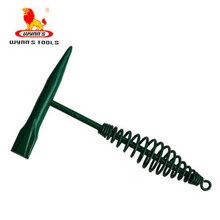 威力狮工具弹簧柄敲锈锤防震除锈锤去锈锤W2617图片
