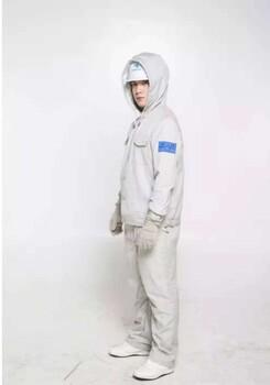 西安防护工作服装带电作业屏蔽服套装连体劳保服