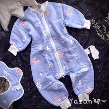 雅赞厂家批发零售六层纱布睡袋婴幼儿系列产品
