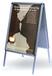 開啟式鋁合金廣告畫框相框電梯海報框生產批發