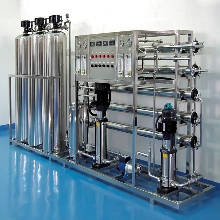 江北芯片热侵锌塑料玻璃清洗纯净水过滤设备安装去离子水