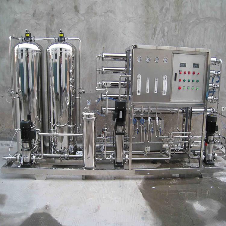 江北化纤水驻极去离子水纯化水,达旺二级反渗透过滤纯水机公司