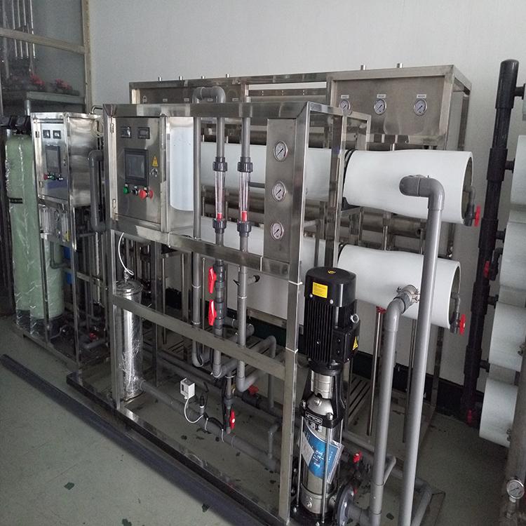 慈溪化纤电子厂去离子水处理设备现货供应,达旺反渗透纯水机