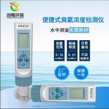 創粵DOZ-30便攜式水體臭氧檢測儀純水污水廠實驗室臭氧水濃度測量儀圖片