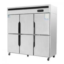 銀都六門雙溫冰箱JBL0562六門雙機雙溫冰箱商用冷藏冷凍柜圖片