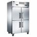 君諾四門冰箱LZ100C2D2四門雙機雙溫冰箱廚房冷藏冷凍柜