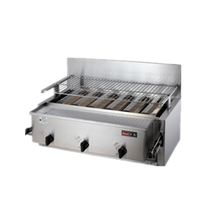 林内商用燃气烤炉RGA-406B底火燃气烤炉林内商用燃气烤箱图片