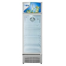 Haier/海尔商用展示柜SC-240立式保鲜柜大容量冷藏展示柜饮料陈列柜图片
