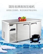 金松二门冷冻冰箱QB0.4L2U二门平台雪柜1.8米冷冻工作台冰箱