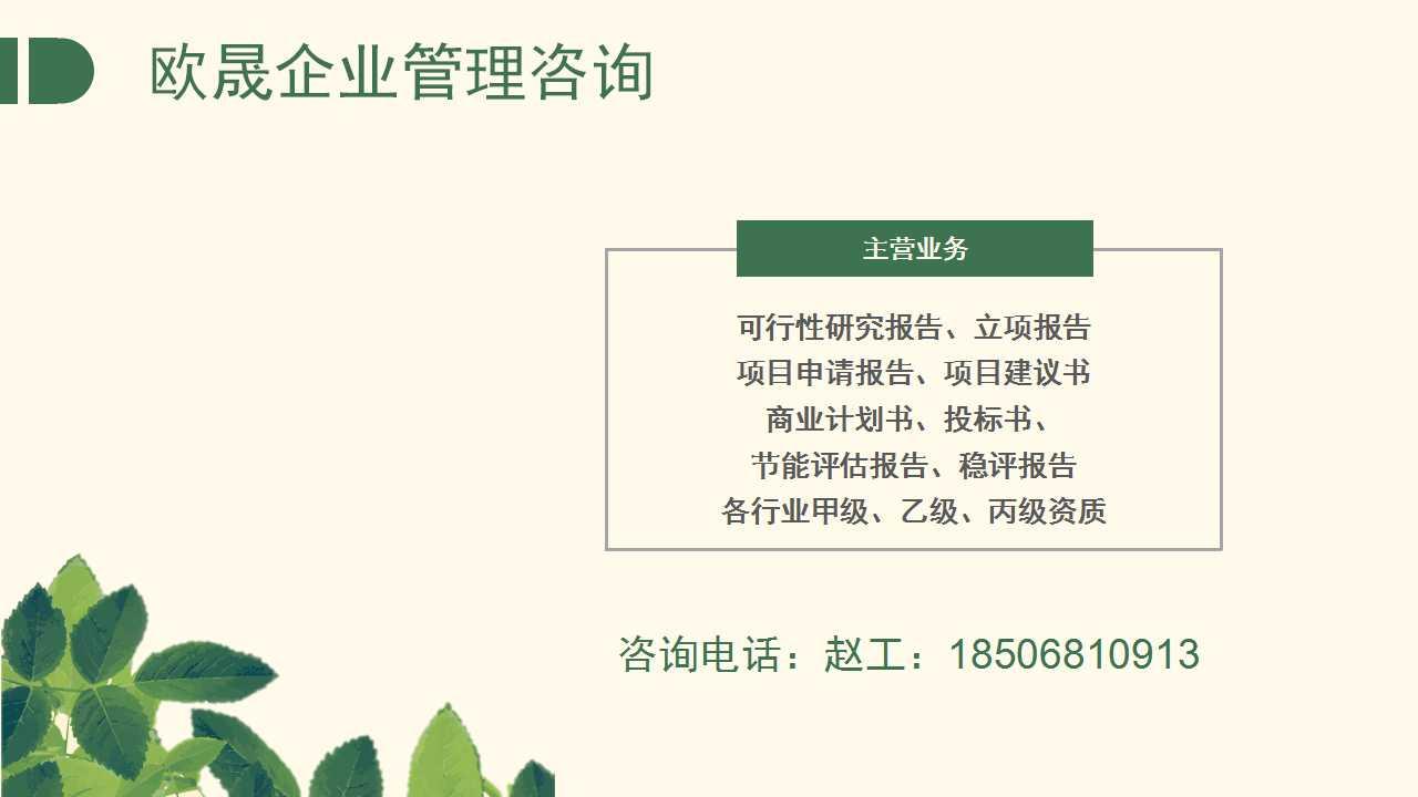 吴兴专业写项目实施方案-研发项目可行性研究报告