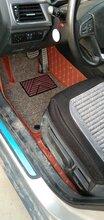 大眾皮革汽車腳墊全包圍雙層絲圈全包圍汽車腳墊