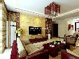 棗莊安僑東城國際新中式裝修設計案例圖片